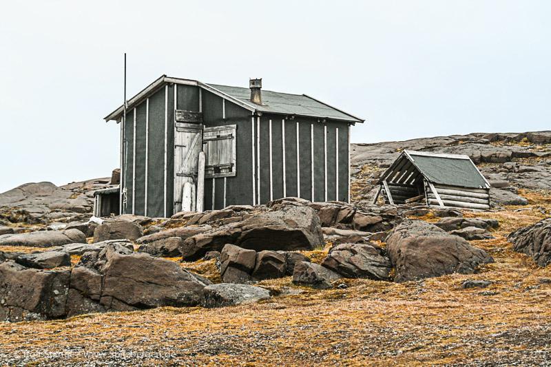 Barentsøya: Sundneset, Würzburger Hütte