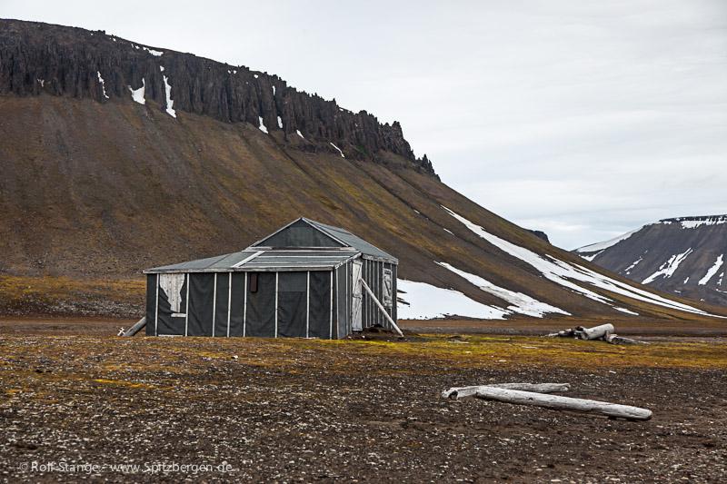 Barentsøya: Frankenhalvøya, Heimland