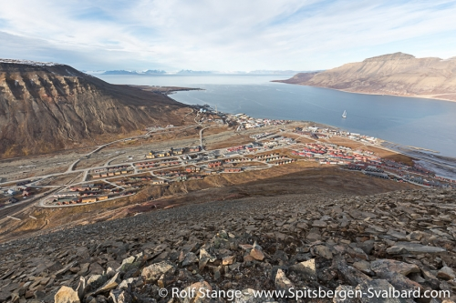 Back in and around Longyearbyen