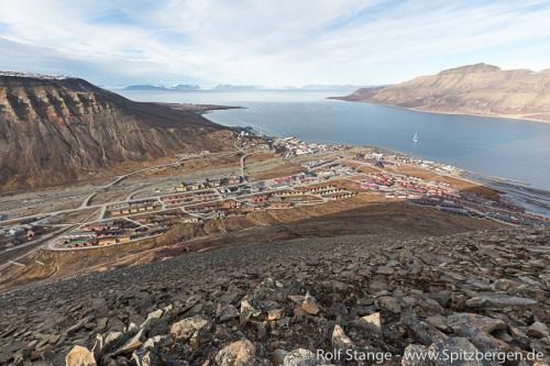 Zurück in und um Longyearbyen
