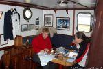 Allzuviel Zeit zum Lesen ist in Spitzbergen eigentlich nicht ...