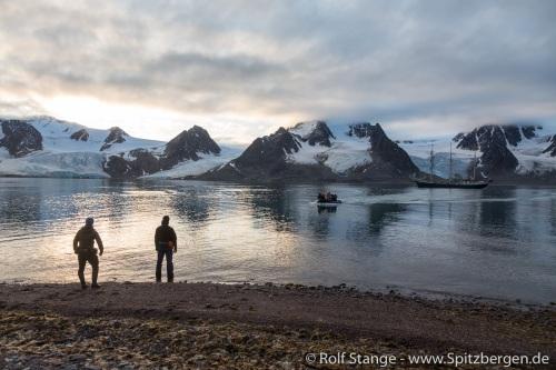 Galerie 3:Nach Westen, zum Isfjord