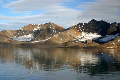 Gold in Spitsbergen