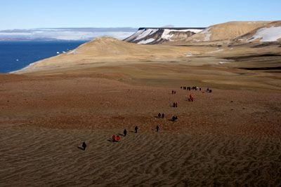 New regulations for ship-based organized tourism in Eastern Svalbard