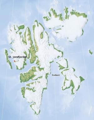 Gold rush Svalbard