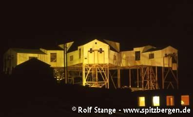 Seilbahnzentrale für den Bergbau, Longyearbyen, Spitzbergen