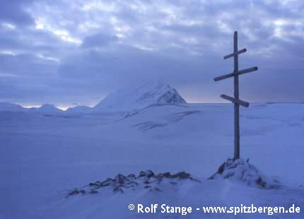 Orthodox cross, Russekeila, Isfjord