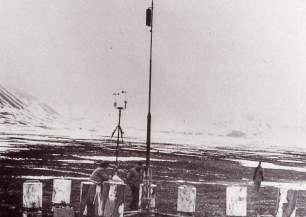 German war weather stations in Spitsbergen: Kreuzritter in the Liefdefjord