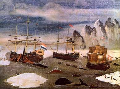 17th century whaling ships