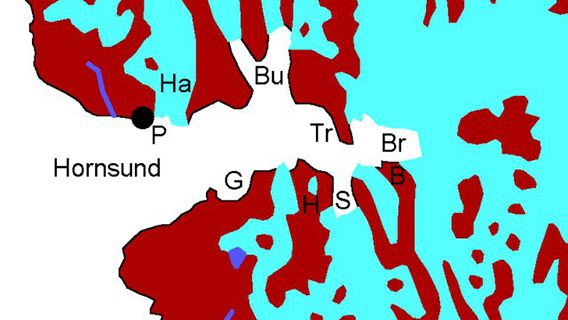 Map Hornsund
