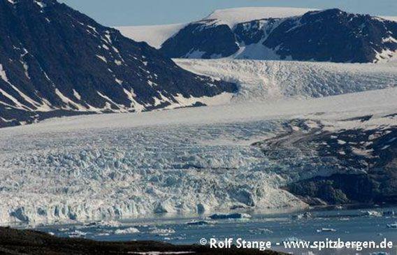 Glacier front, Kongsfjord