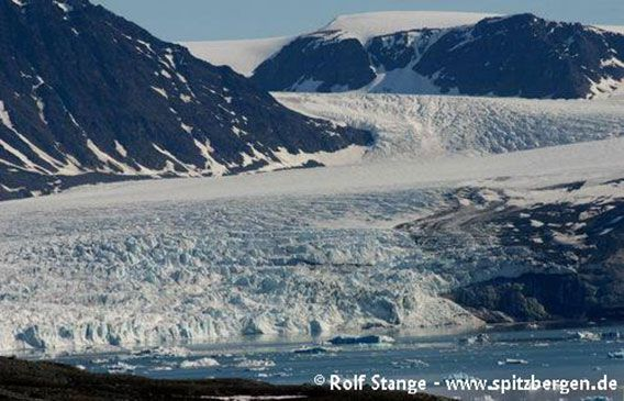 Gletscherfront Kongsfjord