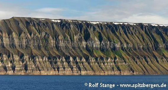 Geologie, Fuglefjellet