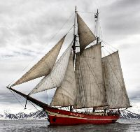 My own journey Spitsbergen experience under sail - on board the two-master Noorderlicht