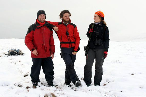 A good team ... (Rolf Stange, Philipp & Valeska Schaudy)