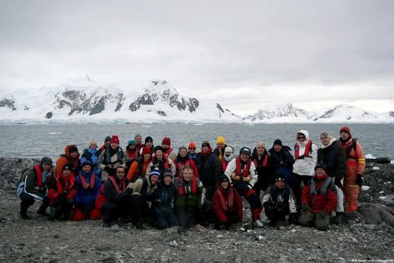 Group photo (Paradise Bay, Skontorp Cove)