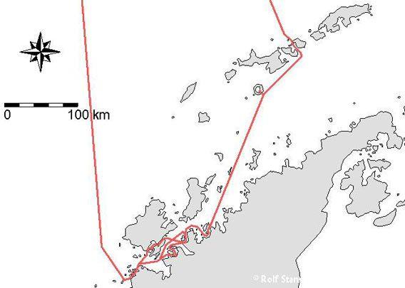 Map - Antarctic Peninsula 2007/03/05-15