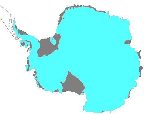 Map: Antarctica 2009/03/10-23