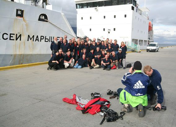 Group photo (Ushuaia)