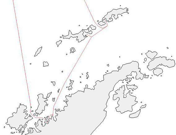 Map - Antarctic Peninsula 2007/02/22-03/05