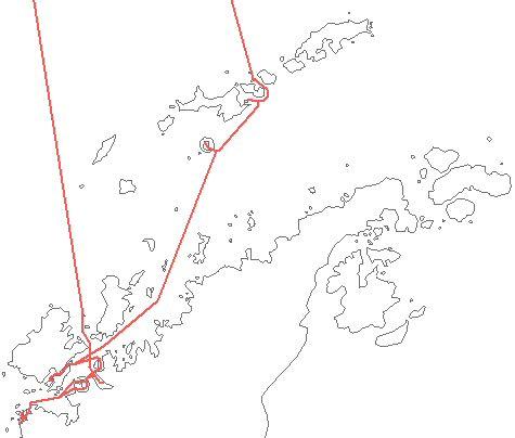 Map: Antarctic Peninsula