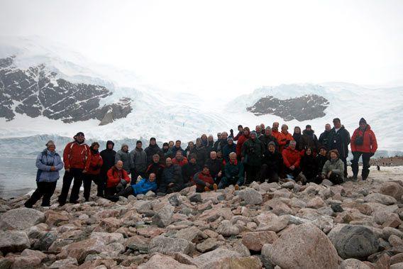 Group photo Neko Harbour