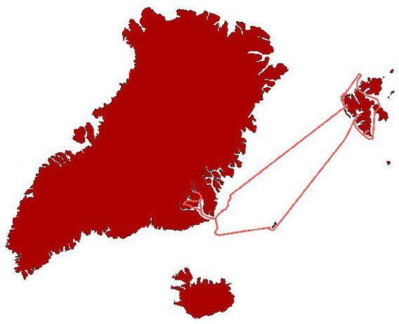 Map - bild der wissenschaft voyage 2007