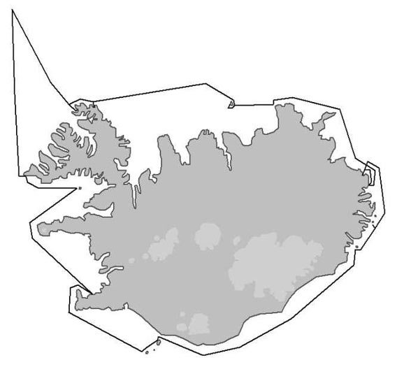 Map - Around Iceland 2006/05/24-06/01