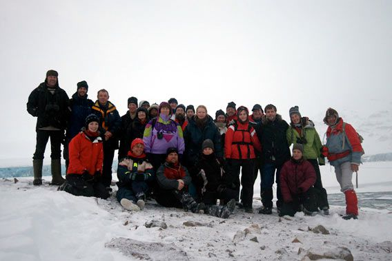 Group photo Recherchebreen