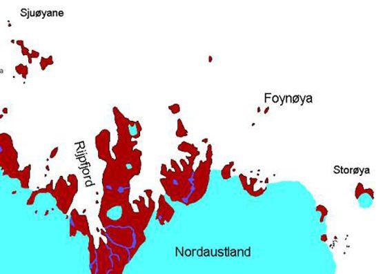 Karte: Foynøya