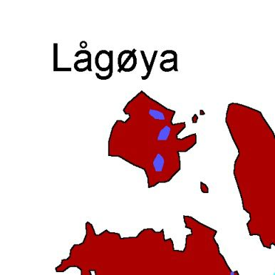 Map Lågøya