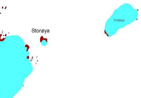 Karte Storøya