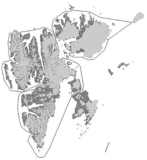 Map - Around Spitsbergen 2006/08/02-12