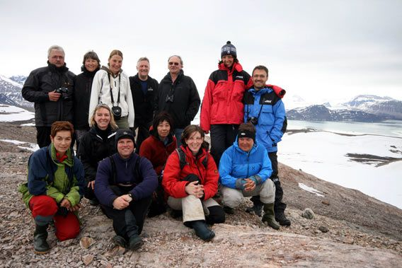 Group photo of the »mountain goats«