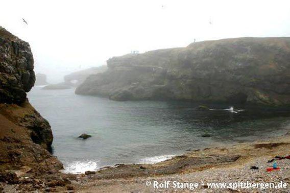Teltvika, Kapp Dunér, Bjørnøya (Bear Island)