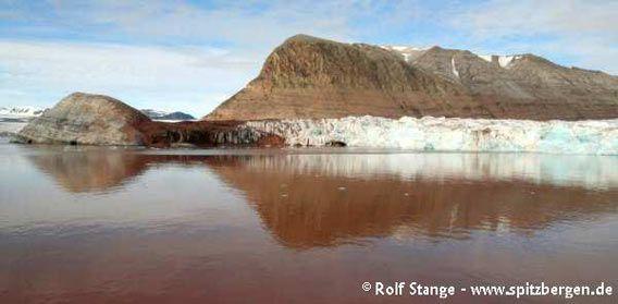 Gletscherfront des Kongsvegen, Kongsfjord