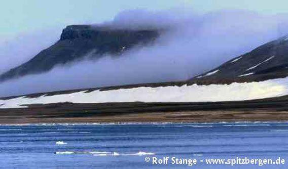 Nebel über Kong Karls Land
