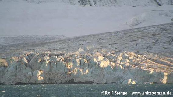 Gletscherfront, Wahlenbergfjord