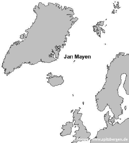 Jan Mayen Karte