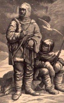 Deutsche Polarfahrer in Spitzbergen
