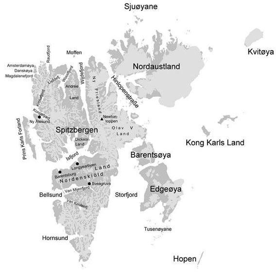 Overview of Svalbard