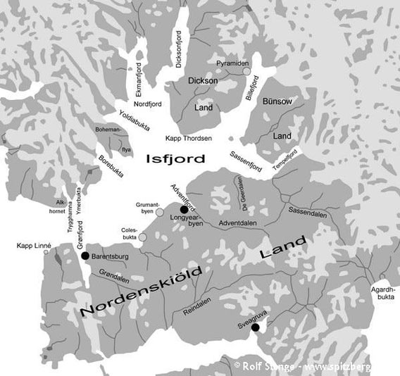 Overview of Isfjord