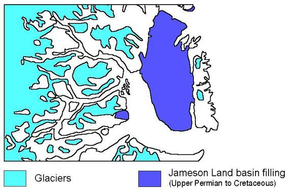Jameson Land basin