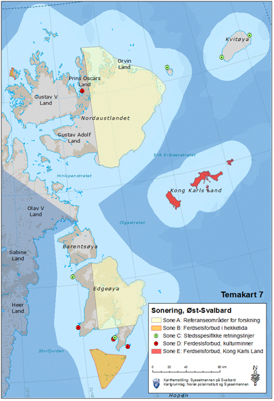 East Svalbard management plan - East Svalbard