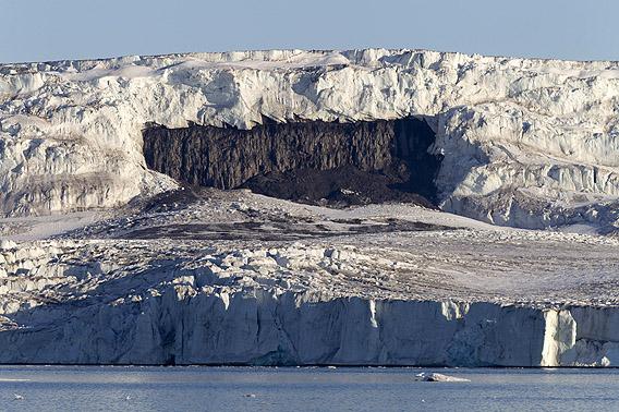 Gletscher am Kapp Weyprecht, Hinlopen, Spitzbergen