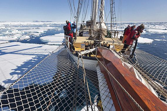Arktis 2014: Spitzbergen mit Rolf Stange und der SV Antigua