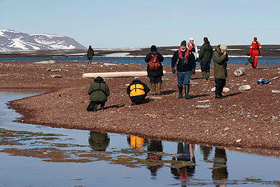 Tourism and the arctic environment - Liefdefjord
