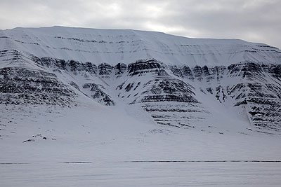 Big oil is watching Spitsbergen - Triassic sediments, Sassendalen