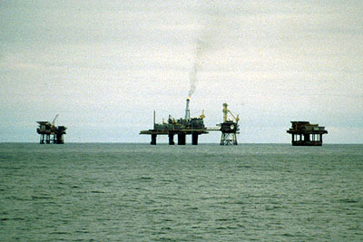 Russian-Norwegian oil cooperation: Oil platforms