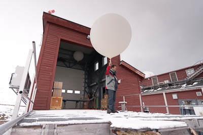 Radiosonde to be released in Ny Ålesund